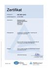ISO 9001:2015 Gültig bis 01.08.2022